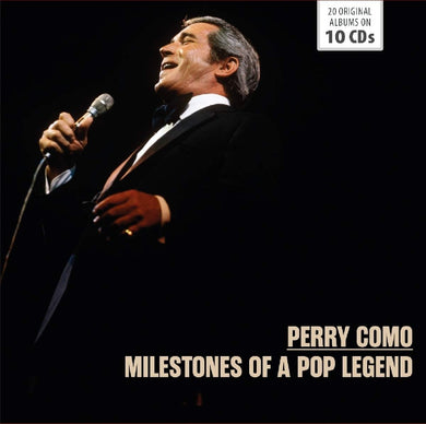 PERRY COMO - MILESTONES OF A POP LEGEND: 20 Original Albums (10 CDS)