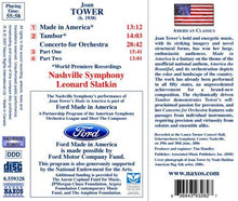Load image into Gallery viewer, TOWER: MADE IN AMERICA - NASHVILLE SYMPHONY ORCHESTRA; SLATKIN