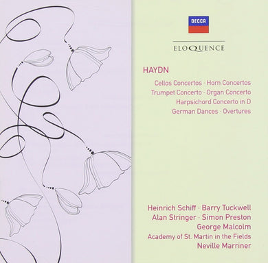 HAYDN: Horn, Cello and Trumpet Concertos, German Dances, Overtures - Academy of St. Martin in the Fields, Marriner (2 CDs)