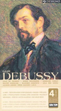 DEBUSSY: Orchestral Works, Piano Works and Opera Excerpts (4 CDs)