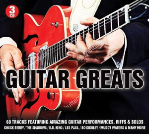 GUITAR GREATS (3 CDs): Chuck Berry, Shadows, B.B.King, Muddy Waters, Buddy Guy, Les Paul and More