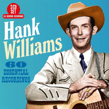 Load image into Gallery viewer, HANK WILLIAMS: 60 Essential Recordings (3 CDs)
