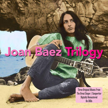 Load image into Gallery viewer, JOAN BAEZ: TRILOGY (Joan Baez Vol.1/Joan Baez Vol.2/Folk Singers 'Round Harvard Square) 3 CDS