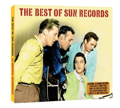 BEST OF SUN RECORDS: Roy Orbison, Carl Perkins, Barbara Pittman, Sonny Burgess and More (2 CDs)