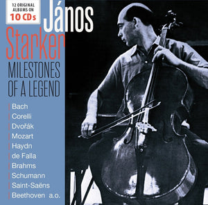 JANOS STARKER Milestones Of A Legend - 12 Original Albums (10 CDS)