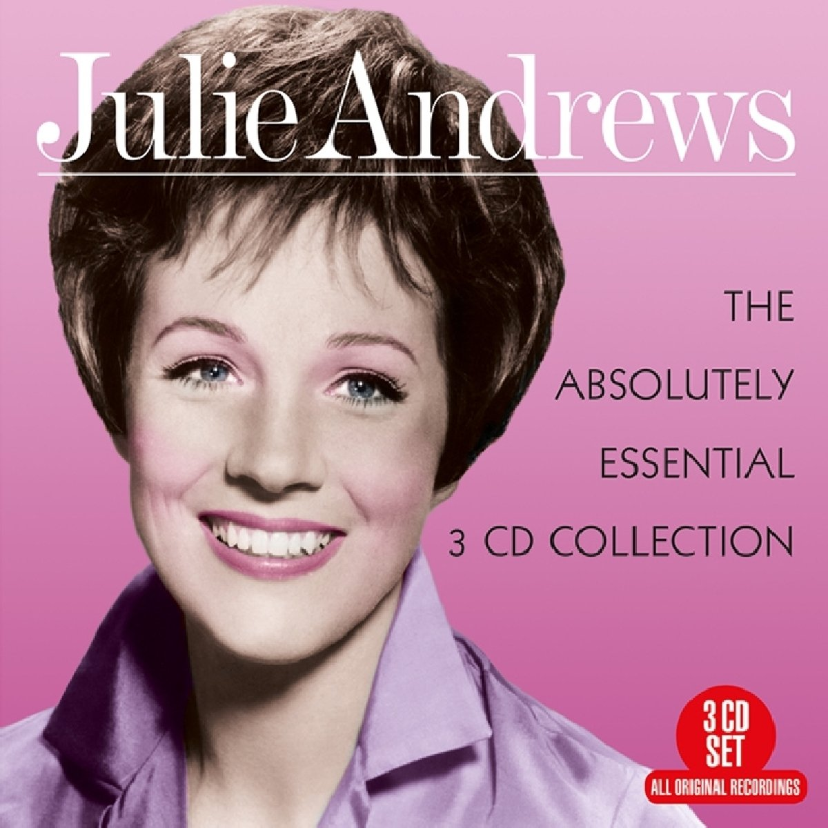 JULIE ANDREWS: The Absolutely Essential 3 CD Collection