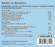 Load image into Gallery viewer, RICHTER IN BROOKLYN (2 CDS)