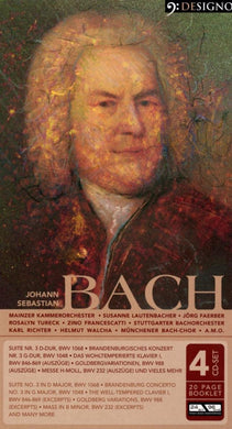 BACH, J.S. - Orchestral, Keyboard, Choral Works (4 CDS)