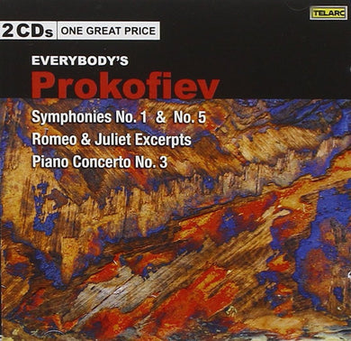 Everybody's Prokofiev - Symphonies No.1 & No.5; Romeo & Juliet Excerpts; Piano Concerto No.3 (2 CDs)
