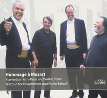 Load image into Gallery viewer, HOMMAGE A MOZART: CLASSICAL AND JAZZ DUO