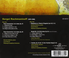 Load image into Gallery viewer, RACHMANINOFF: Everybody's Rachmaninoff - Piano Concertos 2&3; Vocalise; Rhapsody on a Theme of Paganini; Sonata No.2 (2 CDs)