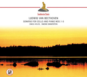 BEETHOVEN: Sonatas for Cello and Piano Nos. 1-5 - DINNERSTEIN, HELED (2 CDS)