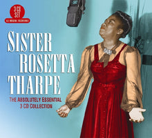 Load image into Gallery viewer, SISTER ROSETTA THARPE: The Absolutely Essential 3 CD Collection