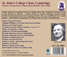 Load image into Gallery viewer, Jesu, Joy of Man's Desiring - St. John's College Choir; George Guest