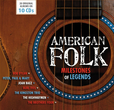AMERICAN FOLK: MILESTONES OF FOLK LEGENDS (10 CDS)