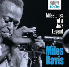 Load image into Gallery viewer, MILES DAVIS: Milestones Of A Jazz Legend (10 CDS)