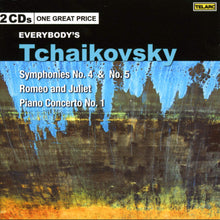 Load image into Gallery viewer, Everybody's Tchaikovsky: Romeo & Juliet; Piano Concerto No. 1; Symphonies No. 4 & No. 5 (2 CDs)
