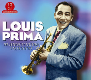 LOUIS PRIMA: The Absolutely Essential 3 CD Collection