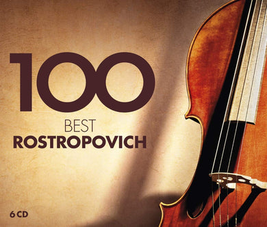 100 BEST ROSTROPOVICH (6 CDS)