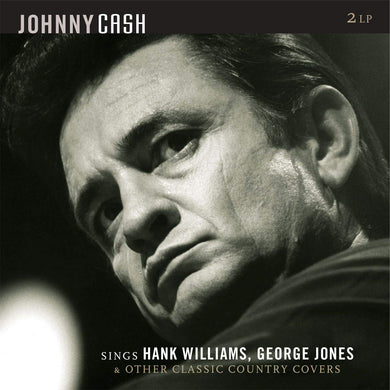 JOHNNY CASH Sings Hank Williams, George Jones & Other Classic Country Covers (LP)