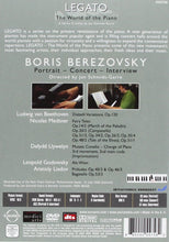 Load image into Gallery viewer, LEGATO: WORLD OF THE PIANO, VOLUME 1 - BORIS BEREZOVSKY (DVD)