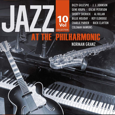 JAZZ AT THE PHILHARMONIC (10 CDS)