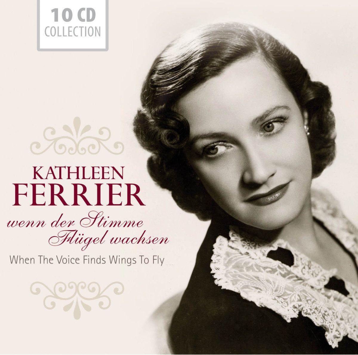 KATHLEEN FERRIER: When The Voice Finds Wings To Fly  (10 CD SET)