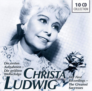 Christa Ludwig - Her First Recordings, Her Greatest Successes (10 CDs)