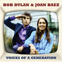 Load image into Gallery viewer, BOB  DYLAN & JOAN BAEZ: VOICES OF A GENERATION (2 CDS)
