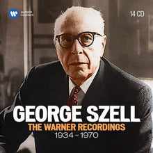 Load image into Gallery viewer, GEORGE SZELL: THE WARNER RECORDINGS 1934-1970 (14 CDS)
