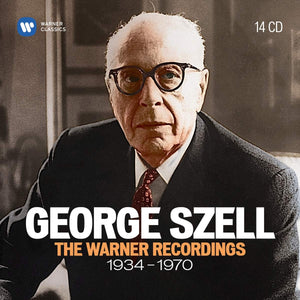 GEORGE SZELL: THE WARNER RECORDINGS 1934-1970 (14 CDS)