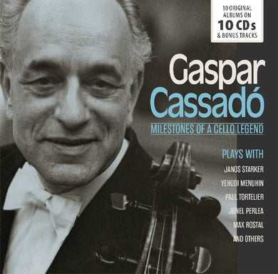 GASPAR CASSADO: MILESTONES OF A CELLO LEGEND (10 CDS)