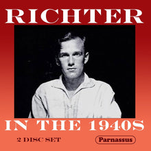 Load image into Gallery viewer, RICHTER IN THE 1940S (2 CDS)