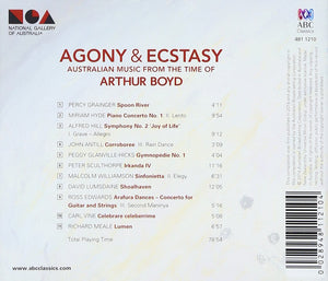 AGONY & ECSTASY - AUSTRALIAN MUSIC FROM THE TIME OF ARTHUR BOYD