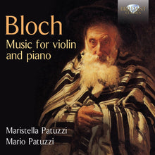 Load image into Gallery viewer, BLOCH: Music for Violin and Piano