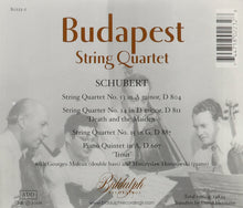 Load image into Gallery viewer, BUDAPEST STRING QUARTET PLAYS SCHUBERT (2 CDS)