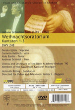 Load image into Gallery viewer, BACH: CHRISTMAS ORATORIO BWV 248 - RILLING (DVD)