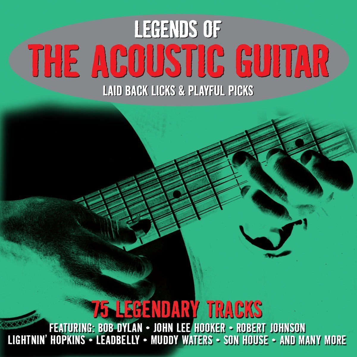 Legends of the Acoustic Guitar - 75 Legendary Tracks (3 CDs)