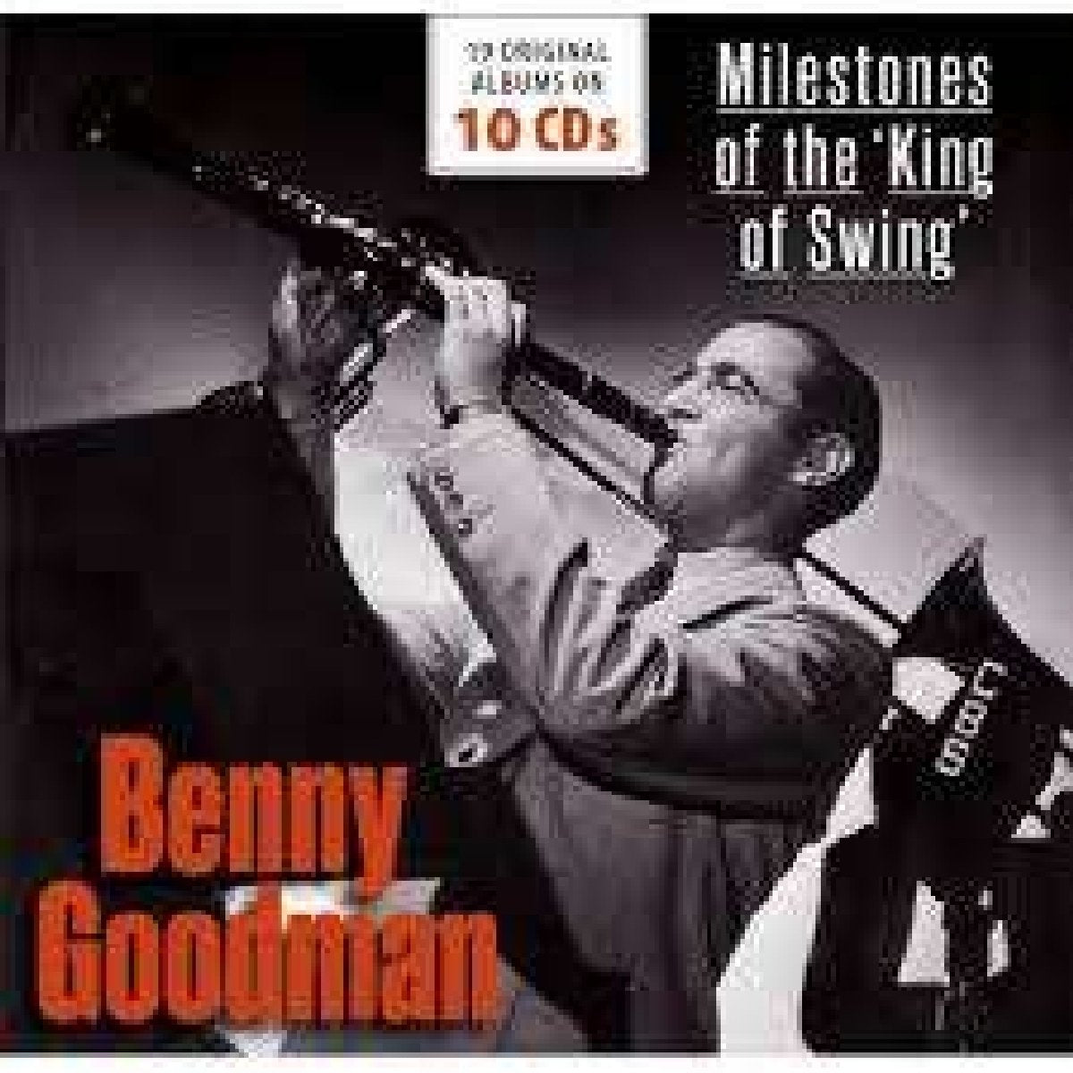 BENNY GOODMAN: Milestones Of The King Of Swing (10 CDs)