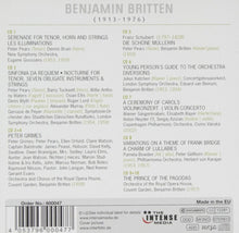 Load image into Gallery viewer, Britten: 100th Anniversary Collection (10 CDs)