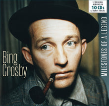 Load image into Gallery viewer, BING CROSBY: MILESTONES OF A LEGEND  (10 CDS)