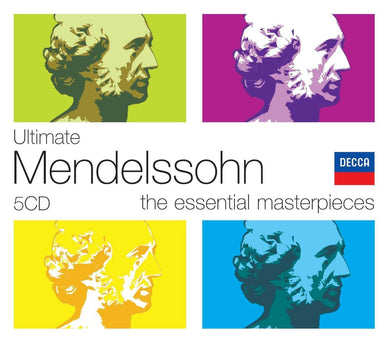 ULTIMATE MENDELSSOHN BOX - 5 CDs