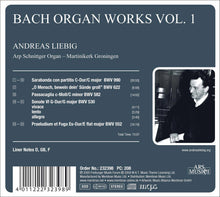 Load image into Gallery viewer, BACH: ORGAN WORKS VOL.1 - ANDREAS LIEBIG