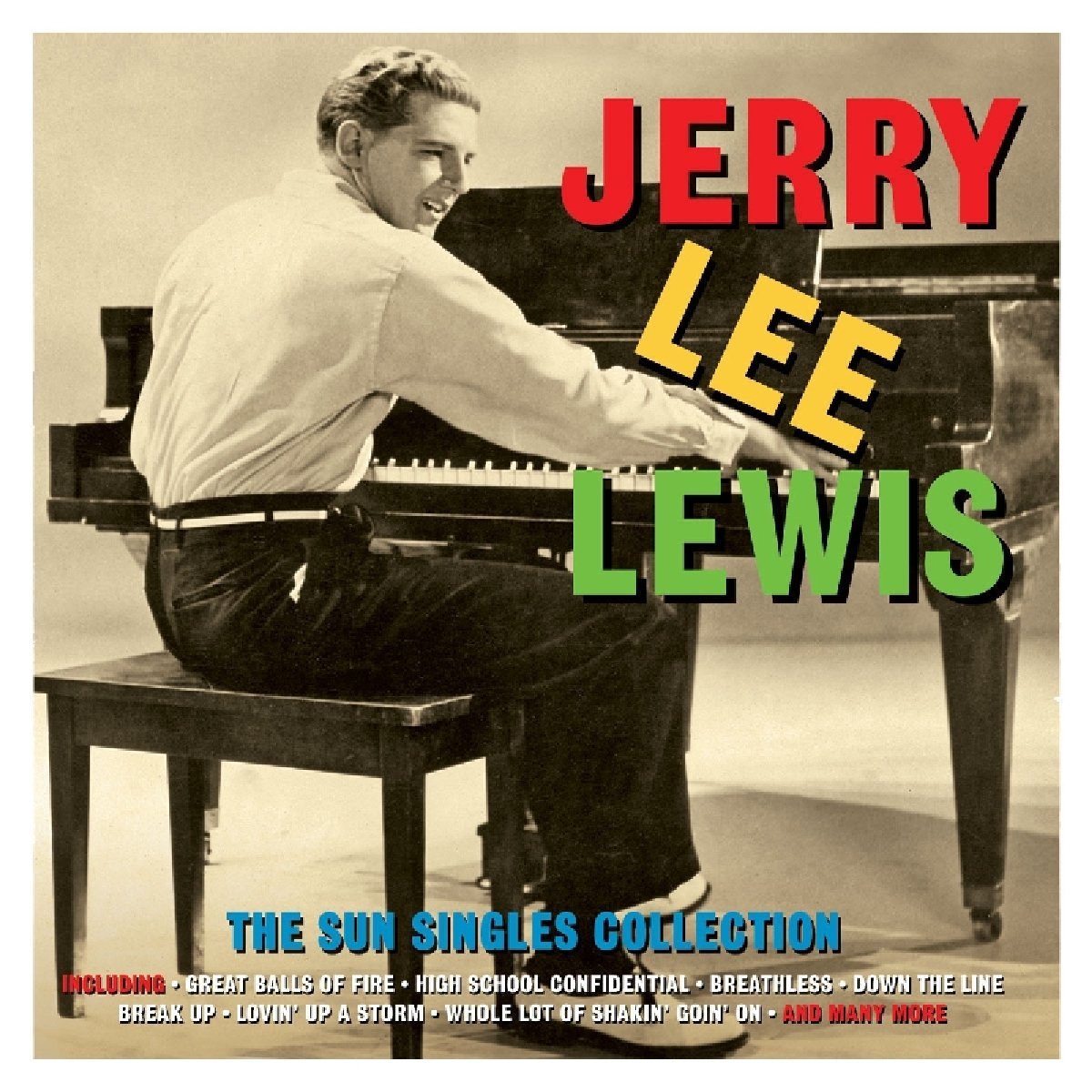 JERRY LEE LEWIS: The Sun Singles Collection (2 CDS)