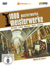 Load image into Gallery viewer, 1000 MASTERWORKS: THE LOUVRE (DVD)