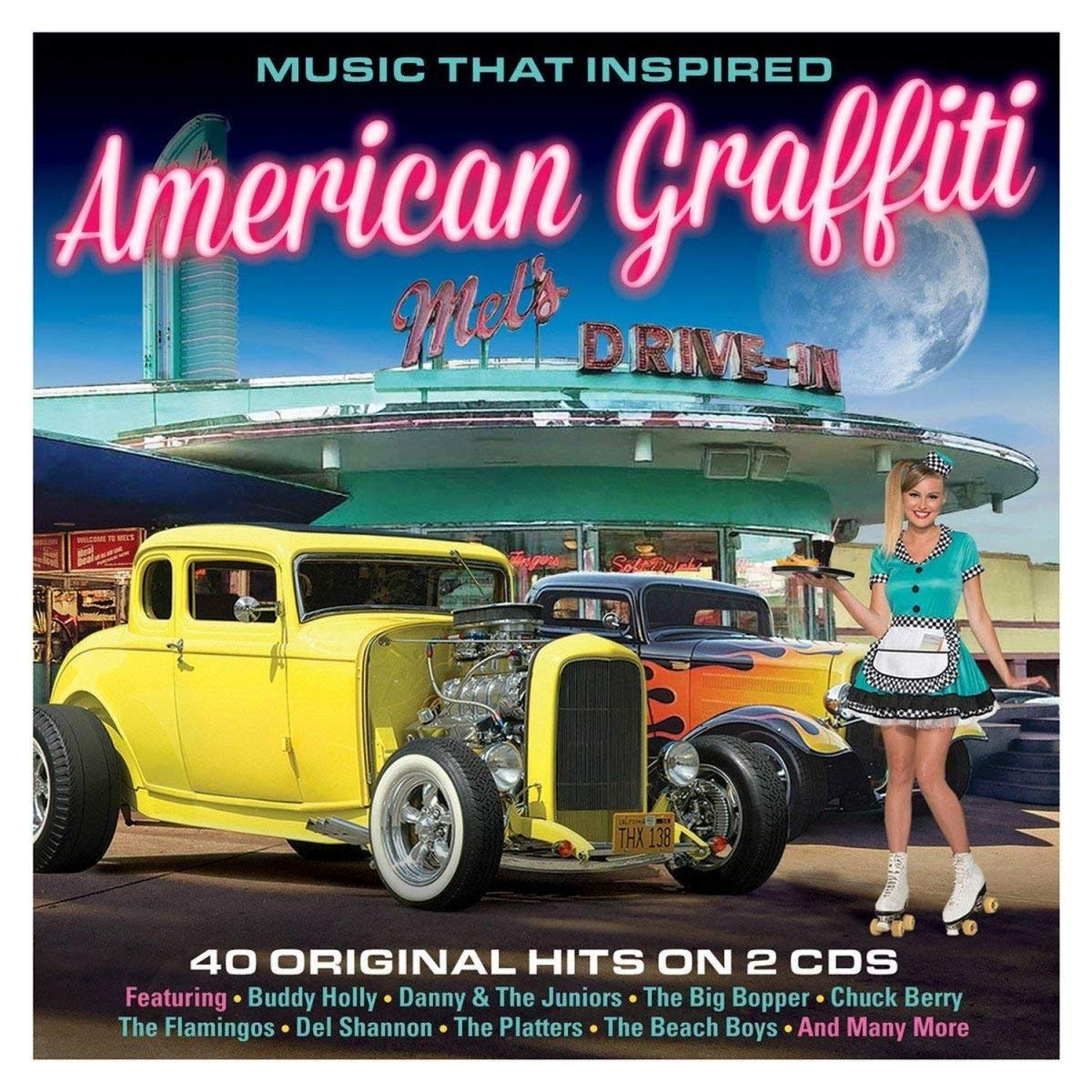MUSIC THAT INSPIRED AMERICAN GRAFFITTI: Buddy Holly, Danny & The Juniors, Big Bopper, Chuck Berry, Del Shannon