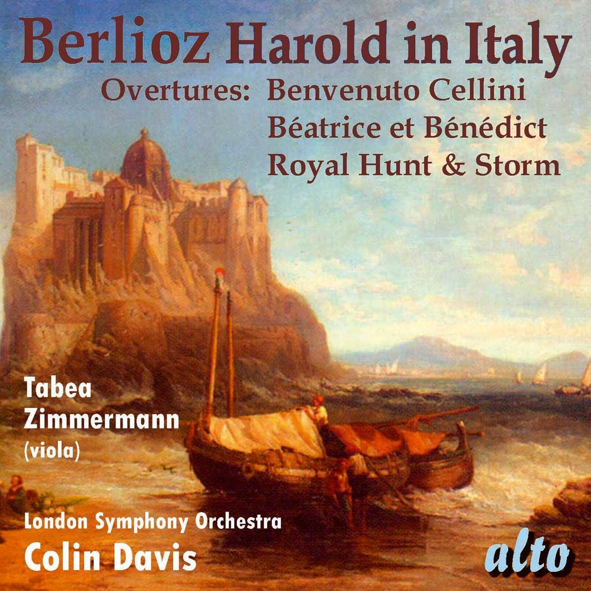 BERLIOZ: HAROLD IN ITALY & THREE OVERTURES - COLIN DAVIS, LONDON SYMPHONY