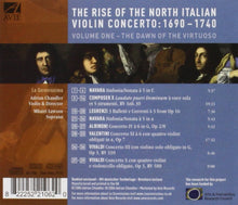 Load image into Gallery viewer, The Rise of the North Italian Violin Concerto Vol. 1: The Dawn of the Virtuoso - La Serenissima