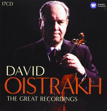 DAVID OISTRAKH: THE COMPLETE EMI RECORDINGS (17 CDS)
