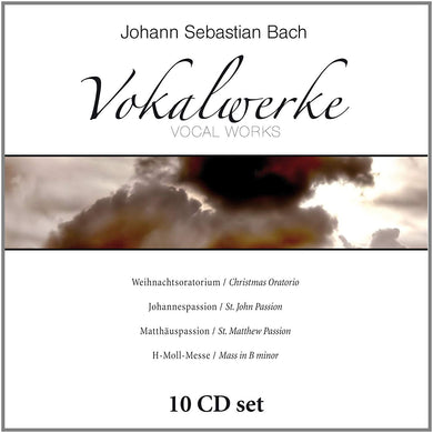 BACH: Vocal Works (10 CD SET INCLUDES FREE BACH CANTATAS DOWNLOAD)